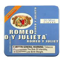 Romeo y Julieta Mini Mild Cigars 5x20 Blue Tin (100ct)