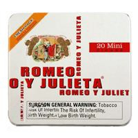Romeo y Julieta Mini Original Cigars 5x20 White Tin (100ct)