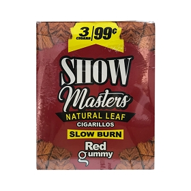 Show Master 3x99 Pack - Red Gummy