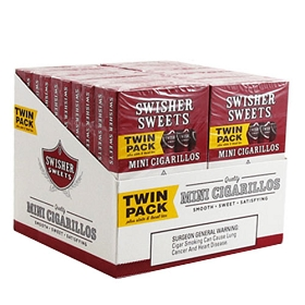 Swisher Sweets Mini Cigarillos Regular Twin Pack