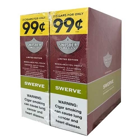 Swisher Sweets Cigarillos Foil Pack Swerve Pre-Priced