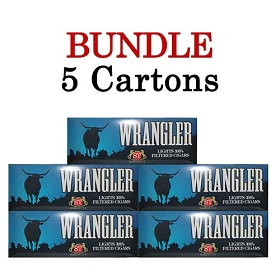 Wrangler Filtered Cigars Blue (Light)  BUNDLE 5