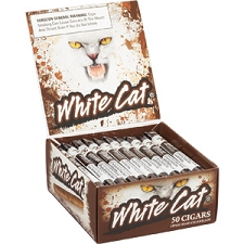 White Cat Cigarillos Natural Box