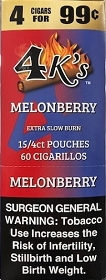4 Kings Cigarillos Melonberry Pre-Priced