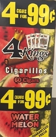 4 Kings Cigarillos Watermelon Pre-Priced