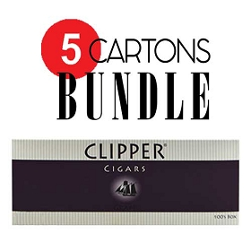 Clipper Filtered Cigars Grape Bundle 5
