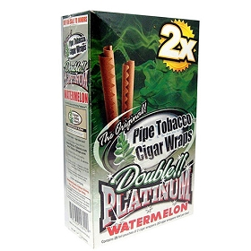 Double Platinum Blunt Wraps Watermelon 2X