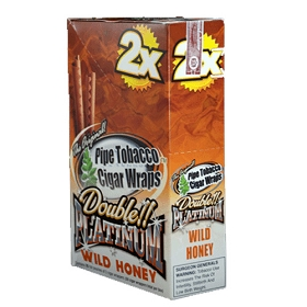 Double Platinum Blunt Wraps Wild Honey 2X
