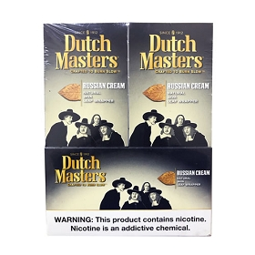 Dutch Masters Cigarillos Foil Russian Cream