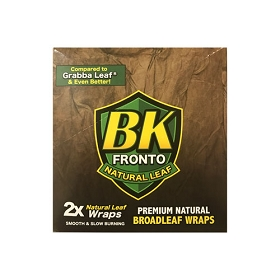 BK Fronto Natural Leaf Cigars Wraps