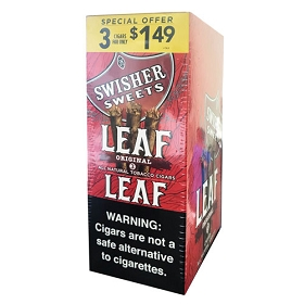 Swisher Sweets LEAF Cigars Pre-Priced - Original