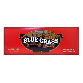 Blue Grass Filtered Cigars RED