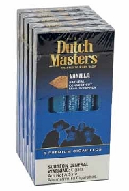 Dutch Masters Cigarillos Vanilla Blue Pack