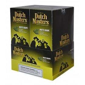 Dutch Masters Cigarillos White Grape Foil 60 Ct