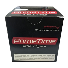 Prime Time Little Cigars Cherry 10 Pack of 10