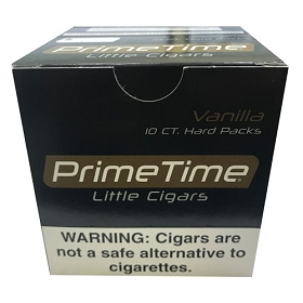 Prime Time Little Cigars Vanilla 10 Packs of 10