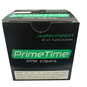 Prime Time Little Cigars Watermelon 10 Packs of 10