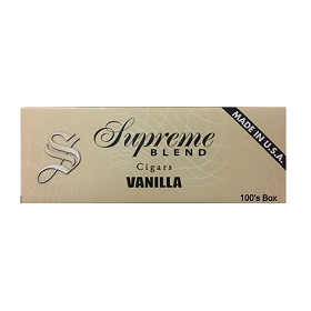 Supreme Blend Filtered Cigars Vanilla (DISCONTINUED)