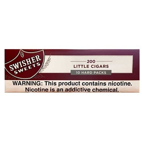 Swisher Sweets Little Cigars Regular King Box