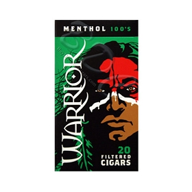 Warrior Filtered Cigars Menthol