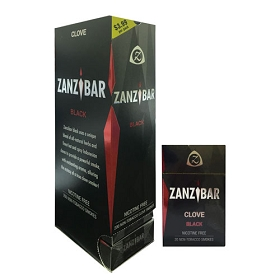 Zanzibar Herbal Clove Smokes - Black (Non-Nicotine)