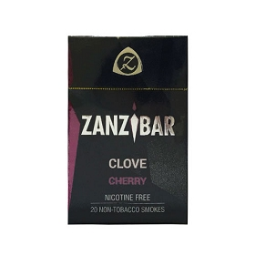 Zanzibar Filtered Clove Cigars - Cherry (Single Pack)