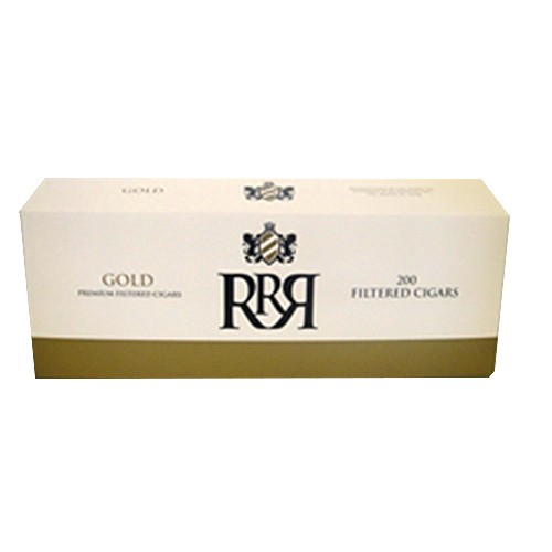 R&R Premium Filtered Cigas Gold 100's