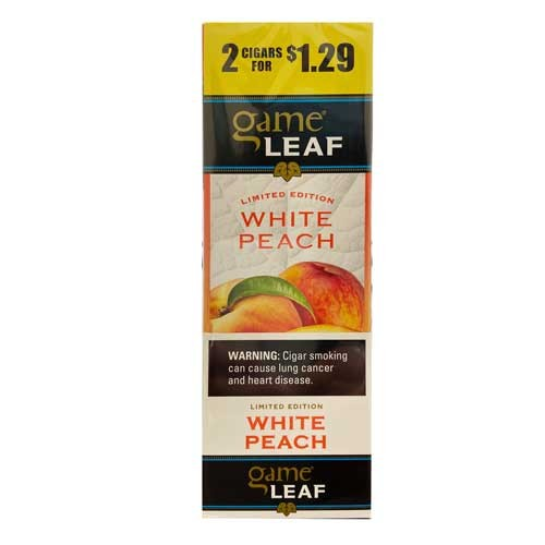 Game Leaf Cigars Pre-Priced - Peach
