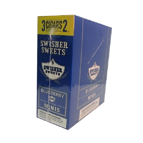 Swisher Sweets Mini Cigarillos Blueberry Pouch 3FOR2