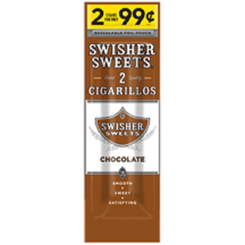Swisher Sweets Cigarillos Foil Chocolate Pre-Priced