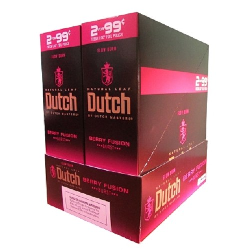 Dutch Masters Cigarillos Foil Berry Fusion Pre-Priced