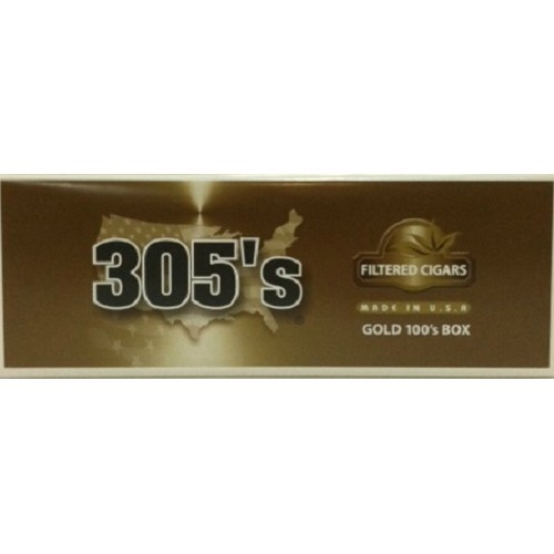 305's Filtered Cigars Gold (Light)