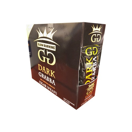 GG Dark Grabba Cigar Wraps - 25Ct