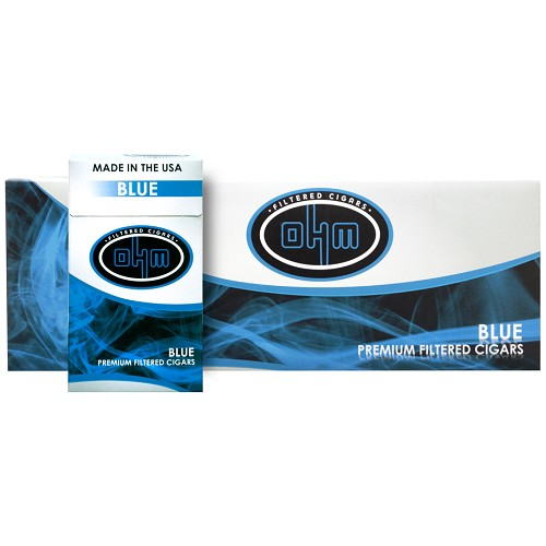 OHM Filtered Cigars Blue (Light)