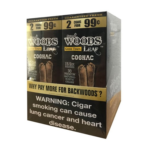 Good Times Sweet Woods Cigars 2x99 - Cognac 2 Pack