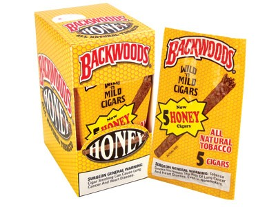 Backwoods Honey Cigars 5 Pack