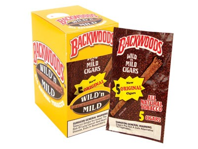 Backwoods Original Cigars 5 Pack