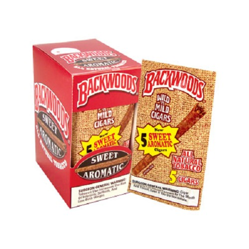 Backwoods Sweet Aromatic Cigars 5 Pack