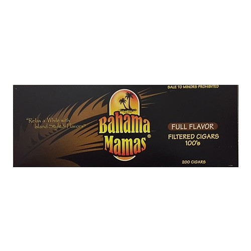 Bahama Mamas Filtered Cigars Full Flavor