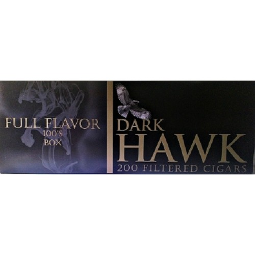 Dark Hawk Filtered Cigars Full Flavor