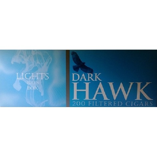 Dark Hawk Filtered Cigars Light
