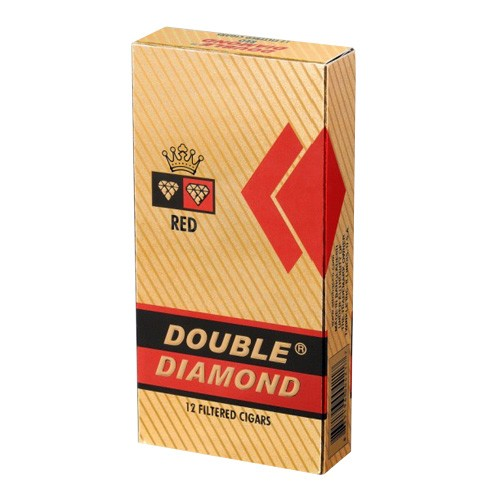 Double Diamond HW Filtered Cigars Red LONG 12/pack