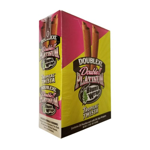 Double Platinum Blunt Wraps Tropical Twista 2XL