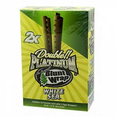 Double Platinum Blunt Wraps White Sea 2X
