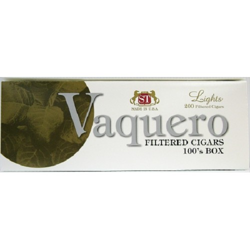 Vaquero Filtered Cigars Light