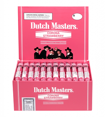 Dutch Masters Corona Cigars Strawberry Box