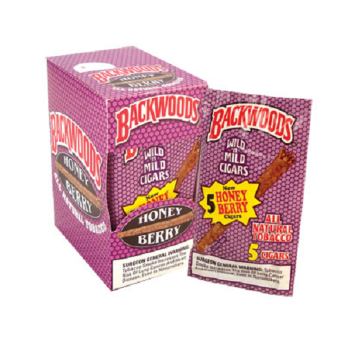 Backwoods Honey Berry Cigars 5 Pack