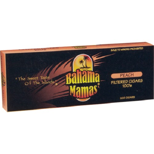 Bahama Mamas Filtered Cigars Peach