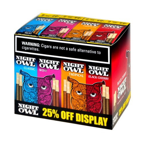 Night Owl Pipe Tobacco Cigars - Multi Pack
