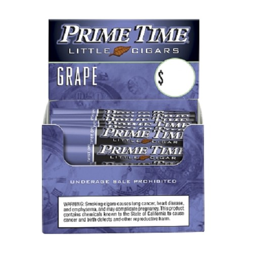 Prime Time Little Cigars Grape 50Ct Box